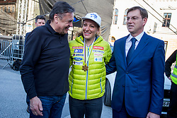 during reception of Slovenian Winter Athletes after the end of the season 2016/17, on March 30, 2017 in Kongresni trg, Ljubljana, Slovenia. Photo by Urban Urbanc / Sportida