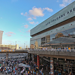 April 22, 2011; New Orleans, LA, USA; A general view outside before game three of the first round of the 2011 NBA playoffs between the New Orleans Hornets and the Los Angeles Lakers at the New Orleans Arena.    Mandatory Credit: Derick E. Hingle