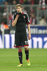 15.03.2014, Allianz Arena, Muenchen, GER, 1. FBL, FC Bayern Muenchen vs Bayer 04 Leverkusen, 25. Runde, im Bild enttaeuschung bei Stefan Kiessling #11 (Bayer 04 Leverkusen) // during the German Bundesliga 25th round match between FC Bayern Munich and Bayer 04 Leverkusen at the Allianz Arena in Muenchen, Germany on 2014/03/16. EXPA Pictures © 2014, PhotoCredit: EXPA/ Eibner-Pressefoto/ Kolbert<br /> <br /> *****ATTENTION - OUT of GER*****