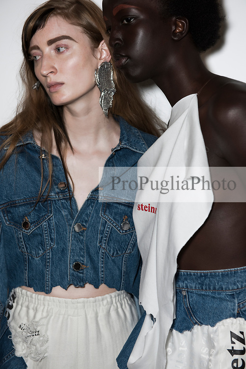 London Fashion Week: FAUSTINE STEINMETZ collection Spring/Summer 2018