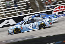 April 8, 2018 - Ft. Worth, Texas, United States of America - April 08, 2018 - Ft. Worth, Texas, USA: Kevin Harvick (4) battles for position during the O'Reilly Auto Parts 500 at Texas Motor Speedway in Ft. Worth, Texas. (Credit Image: © Chris Owens Asp Inc/ASP via ZUMA Wire)