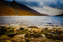 Loch Etive at the head of Glen Etive on a wild, wet autumn day<br /> <br /> (c) Andrew Wilson | Edinburgh Elite media