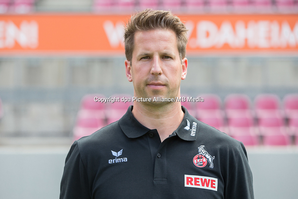 German Bundesliga - Season 2016/17 - Photocall 1. FC Koeln on 18 July 2016 in Cologne, Germany: Physiotherapist Thorsten Klopp. Photo: Maja Hitij/dpa | usage worldwide