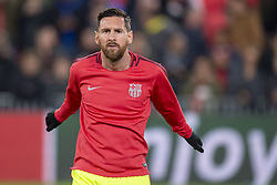 November 28, 2018 - Eindhoven, Netherlands - Lionel Messi of Barcelona pictured during the UEFA Champions League Group B match between PSV Eindhoven and FC Barcelona at Philips Stadium in Eindhoven, Netherlands on November 28, 2018  (Credit Image: © Andrew Surma/NurPhoto via ZUMA Press)