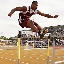 01 May 2008: during the 1A, 2A Louisiana State High School track and field finals at LSU's Bernie Moore stadium in Baton Rouge, LA.