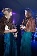 GEORGINA BESENT; OLIVIA WALKER, Quorn Hunt Ball, Stanford Hall. Standford on Soar. 25 January 2014