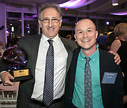 Ben Sandmel and Brian Boyles at Louisiana Endowment for the Humanities Bright Lights Awards Dinner at Popp Fountain in City Park of New Orleans on May 10, 2018Louisiana Endowment for the Humanities Bright Lights Awards Dinner at Popp Fountain in City Park of New Orleans on May 10, 2018