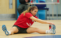 TREFOREST, WALES - Tuesday, February 14, 2011: Wales' Jordan Guard during a fitness testing day at the Glamorgan Sports Park. (Pic by David Rawcliffe/Propaganda)