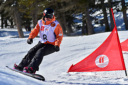 World Cup Banked Slalom, FINA PAREDES Astrid, ESP at the 2016 IPC Snowboard Europa Cup Finals and World Cup