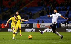 Ollie Clarke of Bristol Rovers fires a shot at goal  - Mandatory by-line: Matt McNulty/JMP - 28/02/2017 - FOOTBALL - Macron Stadium - Bolton, England - Bolton Wanderers v Bristol Rovers - Sky Bet League One