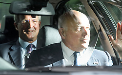 © Licensed to London News Pictures. 04/06/2019. London, UK. Brexiteers OWEN PATERSON MP and IAIN DUNCAN SMITH MP are seen leaving Winfield House, the U.S Ambassadors residence, on day two of a state visit by U.S President Donald Trump, to the UK. Photo credit: Ben Cawthra/LNP