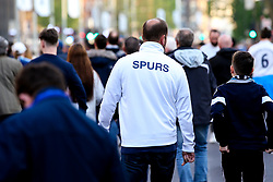 Tottenham Hotspur fans arrive at The Tottenham Hotspur Stadium - Mandatory by-line: Robbie Stephenson/JMP - 30/04/2019 - FOOTBALL - Tottenham Hotspur Stadium - London, England - Tottenham Hotspur v Ajax - UEFA Champions League Semi-Final 1st Leg
