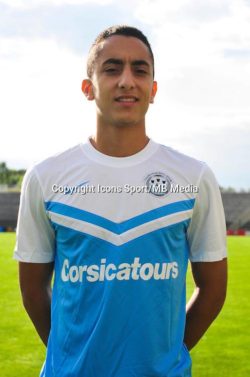 Saif Eddine Khaoui - 20.09.2014 - Photo officielle - Tours - Ligue 2<br /> Photo : Philippe Le Brech / Icon Sport