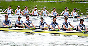 Gent, BELGIUM,  Sat Mornings heats M8+ Henley Rowing Club leading Dublin  Ireland leading at the 1500 meters, International Belgian Rowing Championships, Saturday 09/05/2009, [Mandatory Credit. Peter Spurrier/Intersport Images]