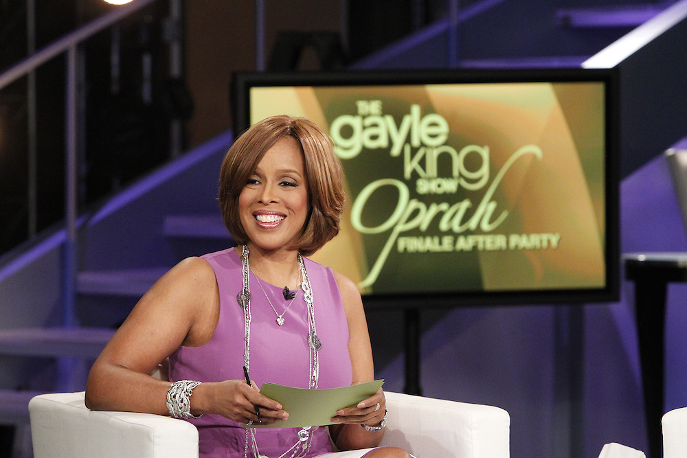 5 26 2011-The Gayle King Show, Taped at Harpo Studios, Chicago,, IL