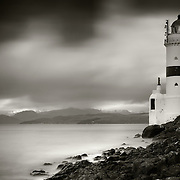 Cloch lighthouse and the Firth of Clyde, Inverclyde, Gourock