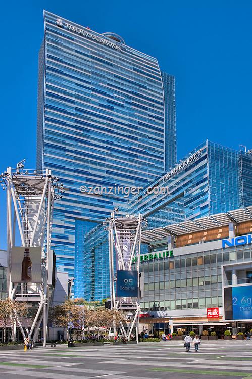 Downtown, Los Angeles, CA, Ritz Carlton, La Live,  Architectural, High dynamic range imaging (HDRI or HDR)