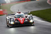 5 LMP1 Toyota Gazoo Racing / Toyota TS050 Hybrid / Anthony Davidson / Sebastian Buemi / Kazuki Nakajima during the FIA World Endurance Championship Qualifying at Silverstone, Towcester, United Kingdom on 15 April 2016. Photo by Craig McAllister.