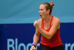 July 21, 2018 - Washington D.C, United States - MADISON BRENGLE in World Team Tennis action for the Washington Kastles. (Credit Image: © Christopher Levy via ZUMA Wire)