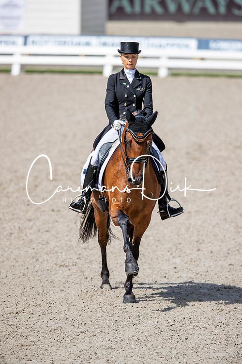 Ayache Grete (EST), Farao Da Raia<br /> European Championship Dressage<br /> Rotterdam 2019<br /> © Hippo Foto - Stefan Lafrentz