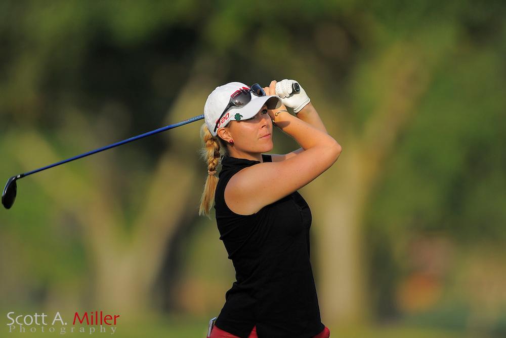 Caroline Westrup during second round of the Symetra Tour's Guardian Retirement Championship at Sara Bay in Sarasota, Florida April 27, 2013. ..©2013 Scott A. Miller