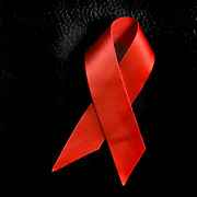 The Red Ribbon a symbol of people who died of AIDS