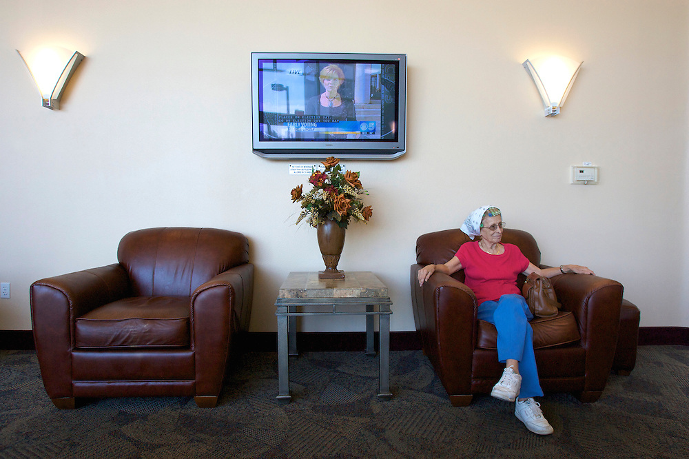 UNITED STATES-SUN CITY-A retirement community in Arizona. Waiting room. PHOTO: GERRIT DE HEUS .VERENIGDE STATEN-SUN CITY-  Sun City. COPYRIGHT GERRIT DE HEUS