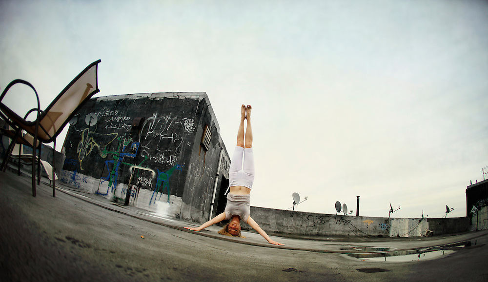 Yoga in New York Project. <br /> In partnership with Yoga Journal Conferences and Hanuman Yoga Clothing
