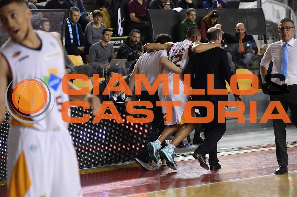 DESCRIZIONE : Roma Lega A 2014-15 Acea Virtus Roma Orlandina Basket<br /> GIOCATORE : daniele sandri<br /> CATEGORIA : curiosit&agrave;<br /> SQUADRA : Acea Virtus Roma Orlandina Basket<br /> EVENTO : Campionato Lega Serie A 2014-2015<br /> GARA : Acea Virtus Roma Orlandina Basket<br /> DATA : 08.02.2015<br /> SPORT : Pallacanestro <br /> AUTORE : Agenzia Ciamillo-Castoria/M.Greco<br /> Galleria : Lega Basket A 2014-2015 <br /> Fotonotizia : Roma Lega A 2014-15 Acea Virtus Roma Orlandina Basket