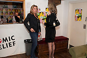 CLAIRE SWEENEY; JULIA ENDELMAN, Gala performance of  RUBY WAX- LOSING IT  in aid of  Comic Relief. Menier Theatre. London. 23 February 2011. -DO NOT ARCHIVE-© Copyright Photograph by Dafydd Jones. 248 Clapham Rd. London SW9 0PZ. Tel 0207 820 0771. www.dafjones.com.