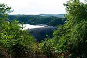 Kariba Dam, dam wall with hydroelectric plant, Zambia, Zimbabwe,