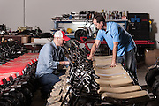 01/14/2016 124804 -- Garland, TX -- © Copyright 2016 Mark C. Greenberg<br /> <br /> CEO Alex Keechle and President and COO Rick Sukkar of Garland, Texas based Monster Moto.