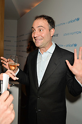 BEN GOLDSMITH at the Louis Vuitton for Unicef Event #MAKEAPROMISE held at The Apartment, 17-20 New Bond Street, London on 14th January 2016.