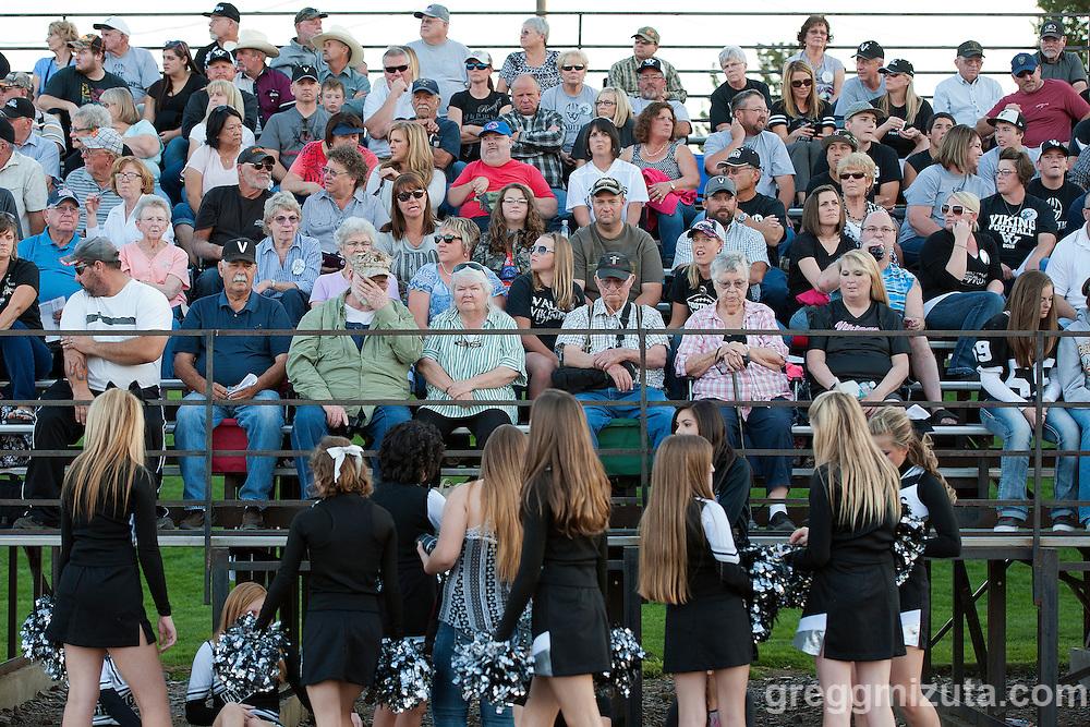 Vale - Homedale football game, September 11, 2015 at Homedale High School, Homedale, Idaho. Homedale won 40-7.