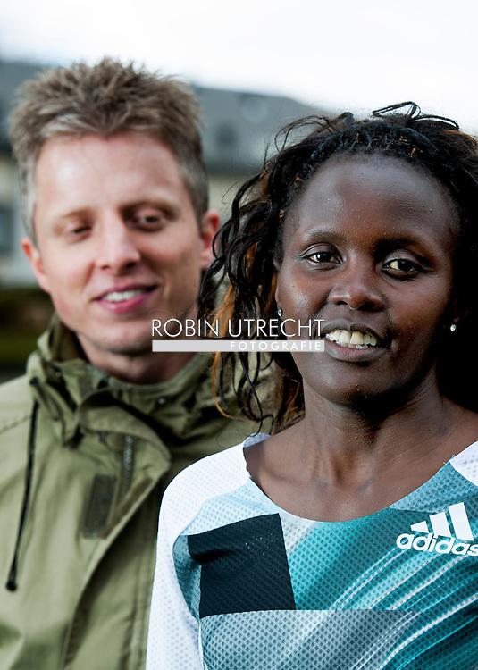 roosendaal - portret van hardloopster elizeba cherono en haar vriend copyright robi utrecht