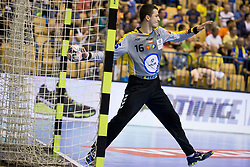 Filip Ivic of PGE Vive Kielce during handball match between RK Celje Pivovarna Lasko and PGE Vive Kielce in Group Phase A+B of VELUX EHF Champions League, on September 30, 2017 in Arena Zlatorog, Celje, Slovenia. Photo by Urban Urbanc / Sportida