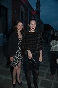 FLORA HAUSER; LILY THYSSEN, Marc Quinn opening. Venice. Venice Bienalle. 28 May 2013