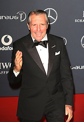 GARY PLAYER. arrives at the Laureus Sport Awards held at the Queen Elizabeth II Centre, London, Monday February 6, 2012. Photo By i-Images