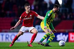 Markus Henriksen of Bristol City marks Hal Robson-Kanu of West Bromwich Albion - Mandatory by-line: Ryan Hiscott/JMP - 22/02/2020 - FOOTBALL - Ashton Gate - Bristol, England - Bristol City v West Bromwich Albion - Sky Bet Championship