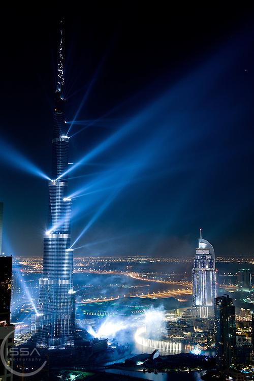 Dubai Opening of Burj Khalifa