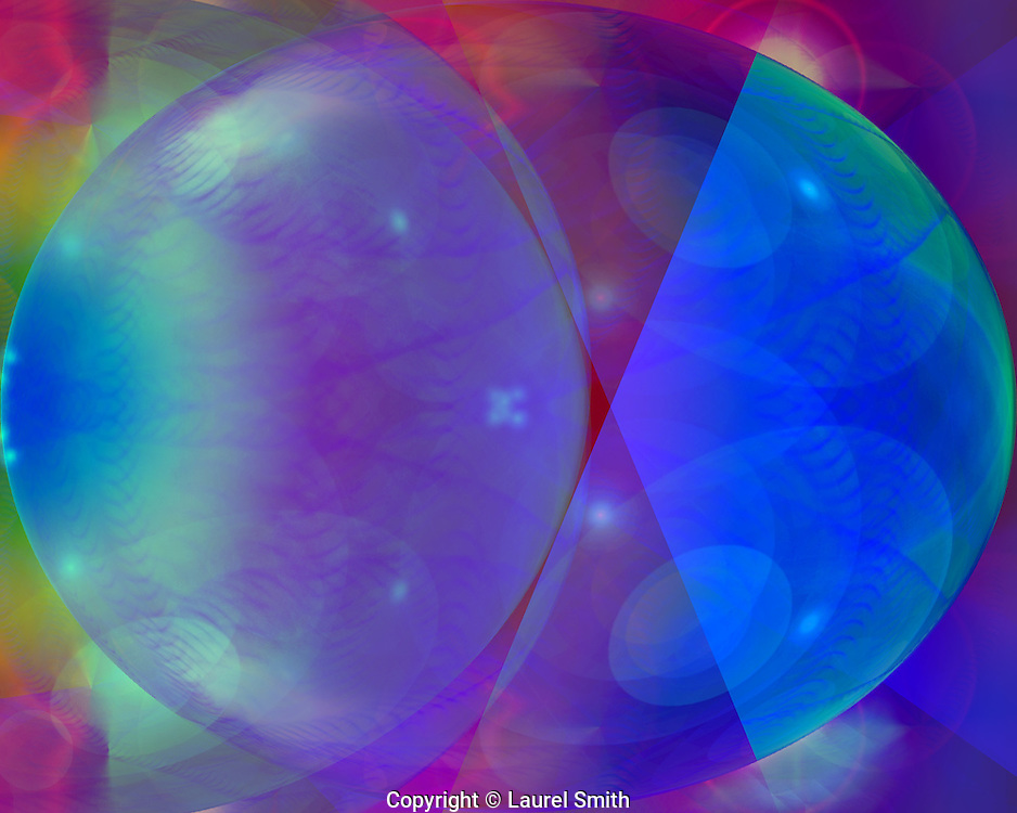 Symphony of Light #98 ~ Wandering Into Other Worlds ~ © Laurel Smith