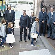 NLD/Laren/20121031 - Uitvaart Joop Stokkermans, familieleden,