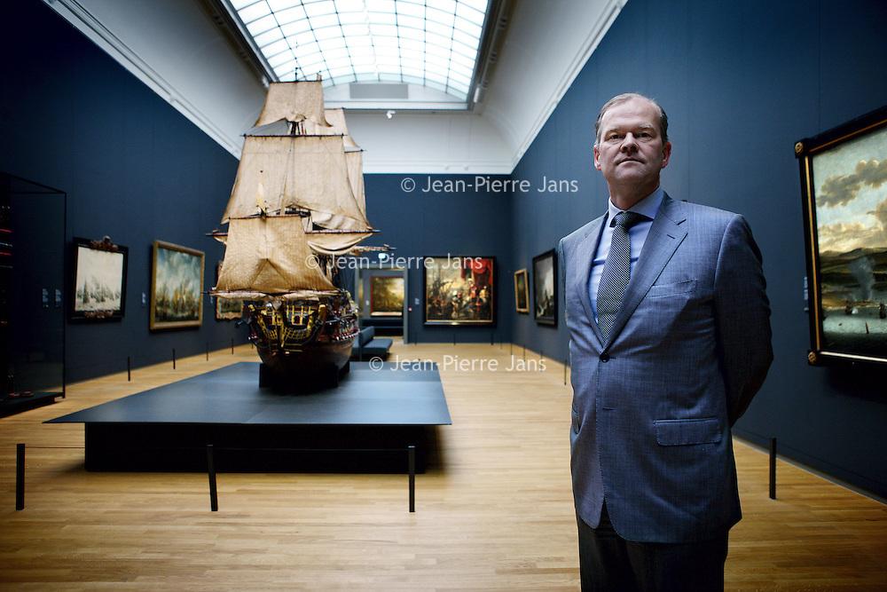 Nederland, Amsterdam , 14 mei 2013.<br /> Ruud Joosten topman bij Akzo Nobel.<br /> Ruud Joosten is lid van het executive committee van AkzoNobel, hij volgde in april 2013 Tex Gunning op.<br /> Op de foto Ruud Joosten in het Rijksmuseum. Akzo Nobel is verantwoordelijk voor 85% van het schilderwerk in de gerenoveerde Rijksmuseum.<br /> Ruud Joosten is a member of the executive committee of Akzo Nobel. Akzo Nobel is responsible for 85% of the painting (not the paintings) in the renovated Rijksmuseum.