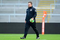 Marek Churcher prior to kick off- Mandatory by-line: Ryan Hiscott/JMP - 17/11/2018 - RUGBY - Sandy Park Stadium - Exeter, England - Exeter Braves v Gloucester United - Premiership Rugby Shield