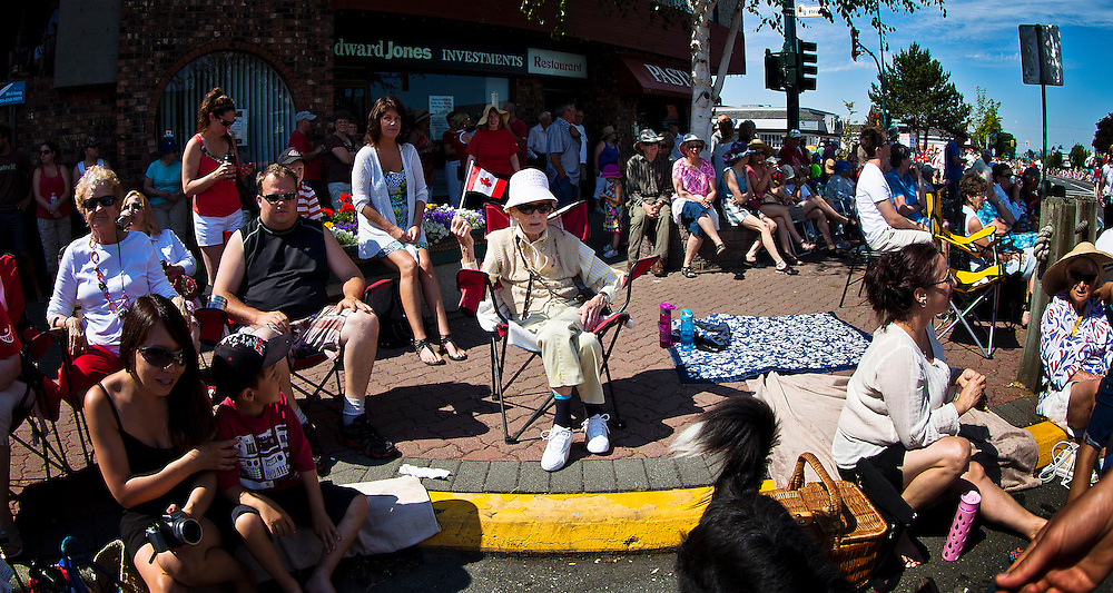 Canada Day in Sidney British Columbia 2013 Parade Boat Race photo
