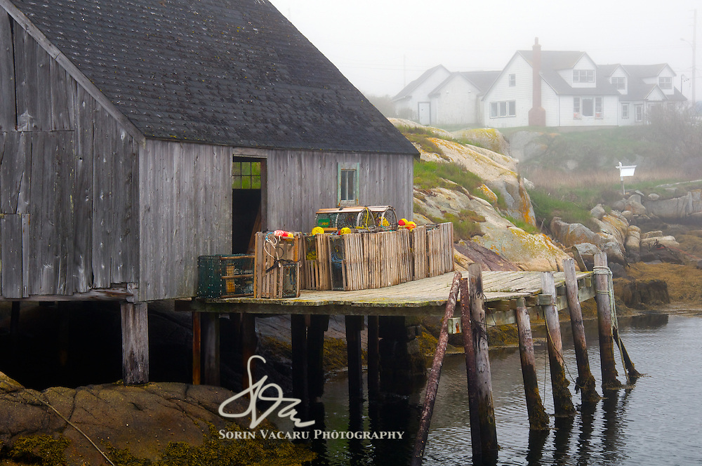 Lobster Traps at Peggys Cove