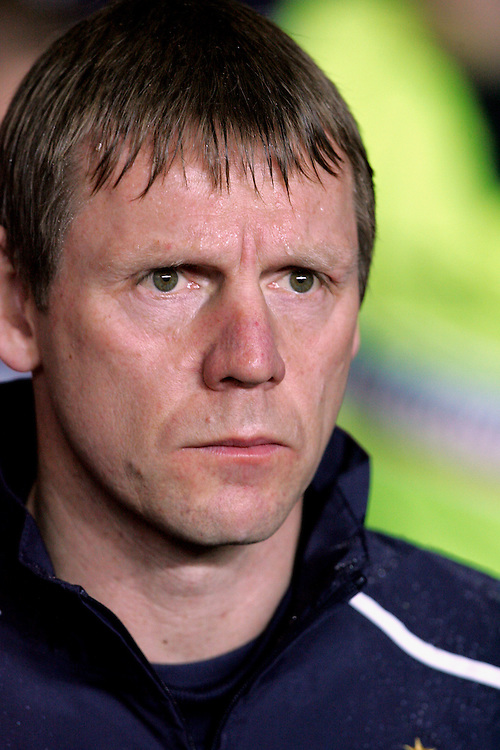 New Enland Under-21 coach Stuart Pearce. England v Republic of Ireland, Uefa Under-21 Championship Qualifier, Tuesday 5th February 2008, St Marys, Southampton.