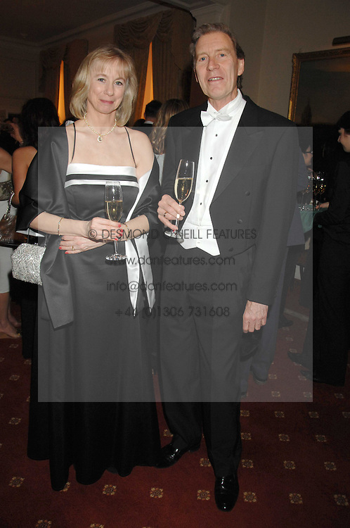 The HON.JUDGE PETER COPLEY and JANICE COPLEY at the 2008 Berkeley Dress Show at the Royal Hospital Chelsea, London on 3rd April 2008.<br />