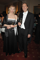 The HON.JUDGE PETER COPLEY and JANICE COPLEY at the 2008 Berkeley Dress Show at the Royal Hospital Chelsea, London on 3rd April 2008.<br /><br />NON EXCLUSIVE - WORLD RIGHTS