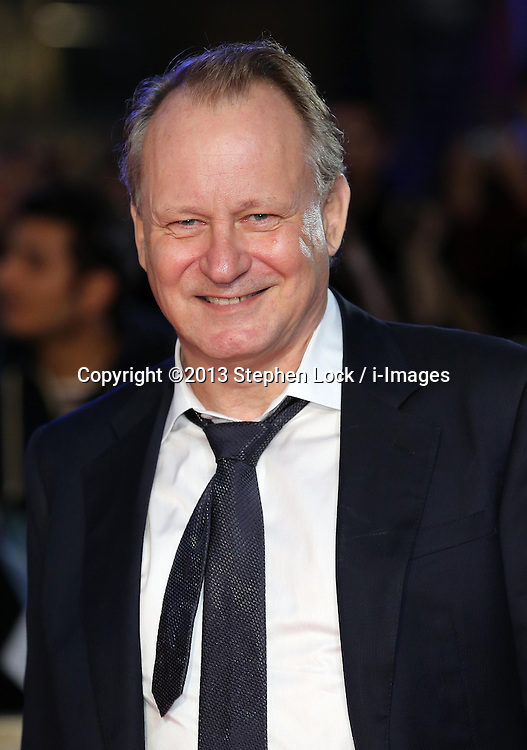 Stellan Skarsgard arriving for the premiere of Thor: The Dark World, in London, Tuesday, 22nd October 2013. Picture by Stephen Lock / i-Images